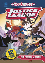 Image: Justice League: You Choose Young Readers - Portal of Doom SC  - Capstone Press