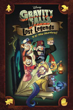 Image: Disney Gravity Falls: Lost Legends HC GN  - Disney Press