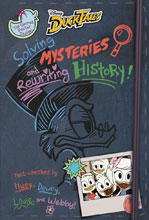 Image: Ducktales: Solving Mysteries & Rewriting History HC  - Disney Press
