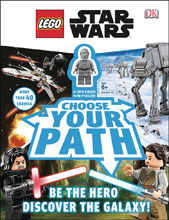 Image: Lego Star Wars: Choose Your Path HC  (w/Minifigure) - DK Publishing Co