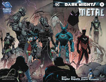 Image: Dark Nights: Metal #5 (variant DFE Sketch cover) (DFE signed - Snyder Capullo) - Dynamic Forces