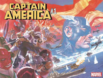 Image: Captain America #1 (CGC Graded) - Dynamic Forces