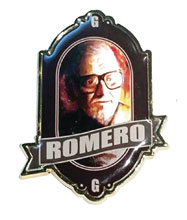Image: George Romero Tribute Enamel Pin  - Famous Monsters of Filmland