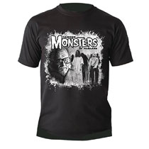 Image: George Romero Tribute T-Shirt  (XL) - Famous Monsters of Filmland