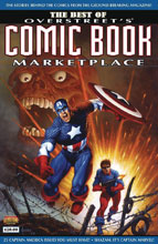 Image: Best of Overstreet Comic Book Marketplace Vol. 01: Captain America SC  - Gemstone Publishing