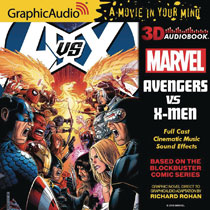 Image: Marvel Audio CD: Avengers vs. X-Men  - Graphic Audio/The Cutting Corp