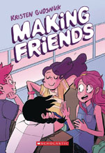 Image: Making Friends HC GN  - Graphix