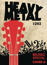 Image: Heavy Metal #293 (cover A - Ron English) - Heavy Metal Magazine