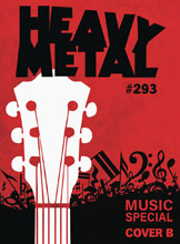 Image: Heavy Metal #293 (cover B) - Heavy Metal Magazine