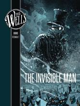Image: H.G. Wells: Invisible Man GN  - Insight Comics