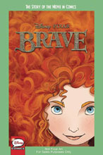 Image: Disney Pixar Brave: Story of Movie in Comics GN  (Young Adult) - Joe Books Inc.