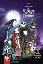 Image: Disney Pixar Nightmare Before Christmas: Movie in Comics GN  (Young Adult) - Joe Books Inc.