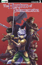 Image: Hunters of Salamanstra Vol. 03 SC  - Keenspot Entertainment