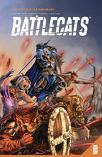 Image: Battlecats 1 01 the Hunt for the Dire Beast SC  - Mad Cave Studios