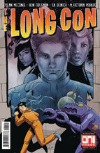 Image: Long Con #1 (cover B - Del Duca) - Oni Press Inc.