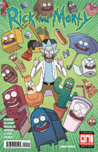 Image: Rick & Morty #40 (cover A - Marc Ellerby, Sarah Stern) - Oni Press Inc.