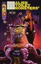 Image: Alien Toilet Monsters #2 (cover A - The Number Two) - Omnimorphic