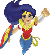 Image: DC Super Hero Girls: Wonder Woman for President  - Random House Books Young Reade