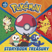 Image: Pokemon Storybook Treasury HC  - Random House Books Young Reade