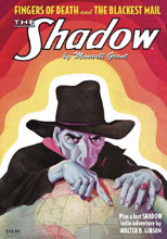 Image: Shadow Double-Novel Vol. 132: Fingers of Death & Blackiest Mail SC  - Sanctum Productions
