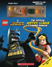 Image: Lego Official Justice League Training Manual  (w/Minifigure) - Scholastic Inc.