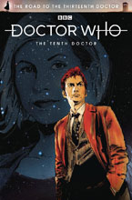 Image: Doctor Who: The Road to the 13th Doctor - 10th Doctor Special #1 (cover A - Hack) - Titan Comics