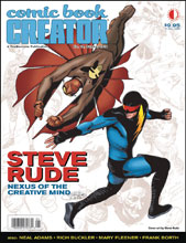Image: Comic Book Creator #18 (Steve Rude) - Twomorrows Publishing