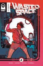 Image: Wasted Space #4 (cover B - Sherman) - Vault Comics
