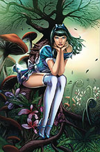 Image: Revenge of Wonderland #1 (cover A - Vitorino) - Zenescope Entertainment Inc