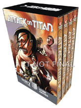 Image: Attack on Titan Season Two Box Set Vol. 01  - Kodansha Comics