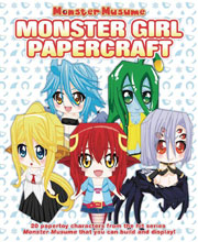 Image: Monster Musume: Monster Girl Papercrafts SC  - Seven Seas Entertainment LLC