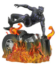 Image: Marvel Gallery PVC Statue: Black Panther  (Movie V2) - Diamond Select Toys LLC