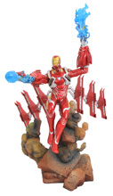 Image: Marvel Gallery Avengers 3 PVC Statue: Iron Man MK50  - Diamond Select Toys LLC