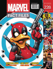 Image: Marvel Fact Files #228 (Deadpool Duck cover) - Eaglemoss Publications Ltd