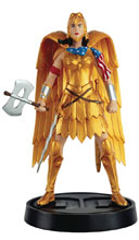 Image: DC Wonder Woman Mythologies Figure Collectible #2 (Golden Eagle Armour Wonder Woman) - Eaglemoss Publications Ltd