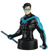 Image: DC Batman Universe Bust Collectible #7 (Nightwing) - Eaglemoss Publications Ltd