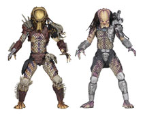 Image: Predator Ultimate Action Figure 2-Pack: Bad Blood & Enforcer  (7-inch Scale) - Neca