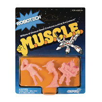 Image: Robotech Muscle 4-Pack Pack B  - Super 7