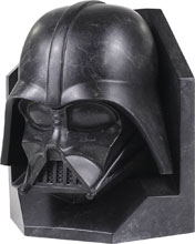 Image: Star Wars Stoneworks Faux Marble Bookend: Darth Vader  - Gentle Giant Studios