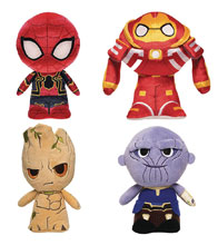 Image: Funko Supercute Avengers: Infinity War 6-Piece Plush Display  - Funko