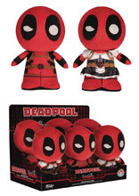 Image: Funko Supercute Marvel Deadpool 6-Piece Plush Display  - Funko