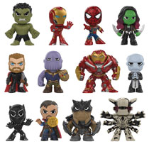Image: Mystery Minis Marvel Avengers: Infinity War 12-Piece Blind Mystery Box Display  - Funko