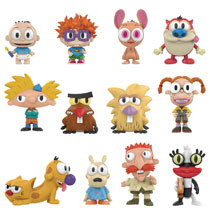 Image: Mystery Minis Nickelodeon 90S Ser1 12-Piece Blind Mystery Box Display  - Funko