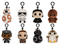 Image: Mystery Minis Star Wars E8 18-Piece Blind Mystery Box Plush Display  - Funko