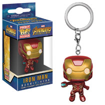 Image: Pocket Pop! Avengers: Infinity War Figure Keychain - Iron Man  - Funko