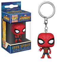 Image: Pocket Pop! Avengers: Infinity War Figure Keychain - Iron Spider  - Funko