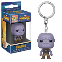 Image: Pocket Pop! Avengers: Infinity War Figure Keychain - Thanos  - Funko
