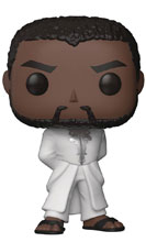 Image: Pop! Black Panther Vinyl Figure: Tchalla  (Robe - White) - Funko
