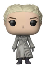 Image: Pop! Game of Thrones S8 Vinyl Figure: Daenerys  (White Coat) - Funko