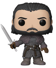 Image: Pop! Game of Thrones S8 Vinyl Figure: Jon Snow  (Beyond the Wall) - Funko